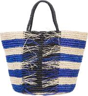 Woven Maxi Tote Bag Women Straw One Size, Nudeneutrals