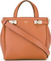 Sava Tote Women Leather One Size, Brown