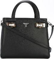 Serapian Small 'serpian' Tote Women Leather One Size, Black