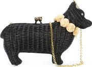 Cat Clutch Women Straw