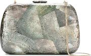 Mothe Of Pearl Clutch Women Mother Of Pearl One Size, Black