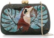 Mother Of Pearl Clutch Women Mother Of Pearl One Size, Black
