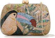Mother Pearl Clutch Women Shell One Size