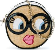 Round Face Shoulder Bag