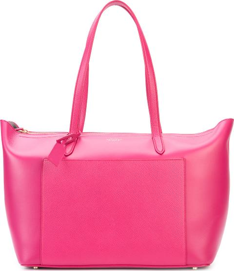 'panama East West' Tote Bag Women Leather One Size