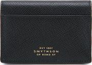 Snap Wallet Men Leather One Size, Black