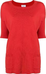 Short Sleeve Fitted Sweater