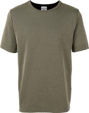 S.n.s. Herning Imitation T Shirt Men Cottonpolyester L, Green