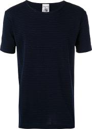 S.n.s. Herning Imitation T Shirt Men Cottonpolyester S, Blue