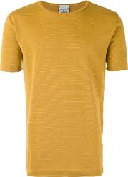S.n.s. Herning Lemma T Shirt Men Cottonpolyester S, Yelloworange