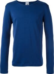 S.n.s. Herning Rite Long Sleeved T Shirt Men Cotton M, Blue