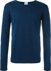 S.n.s. Herning Rite Long Sleeved T Shirt Men Cotton S, Blue