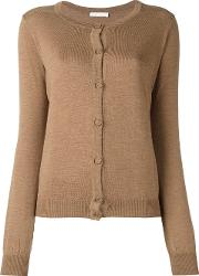 'tiffany' Cardigan Women Merino S, Brown