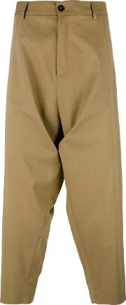 Sauvage Summer Trousers Unisex Cottonviscose M, Brown