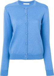 Societe Anonyme Tiffany Cardigan Women Merino M, Blue