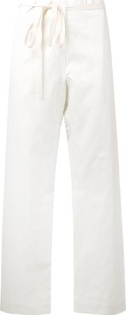 Sofie D'hoore Cropped Trousers Women Cottonlinenflax 36, Nudeneutrals