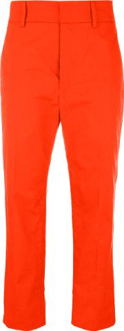 Sofie D'hoore Prior Trousers Women Cotton 40, Red