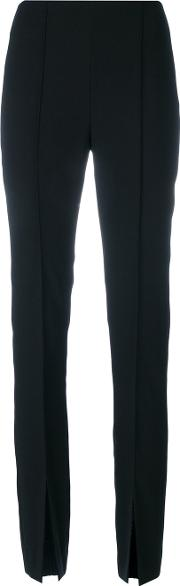 Sonia By Sonia Rykiel Slit Front Trousers Women Polyester 36, Black