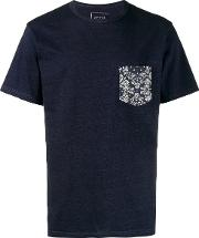 Bandana Print Pocket T Shirt En Cotton
