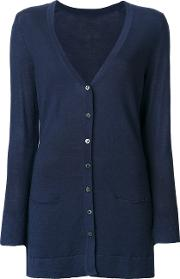 Sottomettimi Light Cardigan Women Merino L, Blue