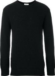 'ricketts' Honey Comb Sweater Men Polyamidewool M, Black