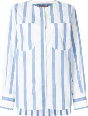 Striped Fitted Blouse