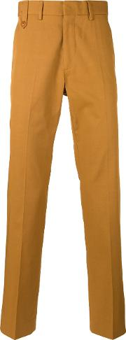 Classic Chino Trousers Men Cotton 50, Brown
