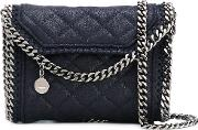 Quilted Falabella Mini Bag Women Artificial Leather One Size, Blue