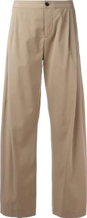Cropped Flared Pants Women Cotton 3, Nudeneutrals