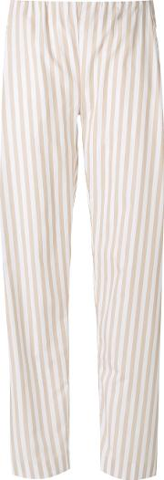 Melo Trousers Women Cotton L, Nudeneutrals