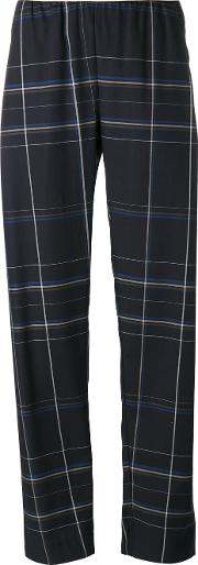 Melo Trousers Women Cotton M, Blue