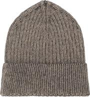 Stephan Schneider Knit Beanie Men Woolalpaca One Size, Brown