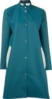 'alvik' Raincoat Women Cottonpolyesterpvc S, Blue