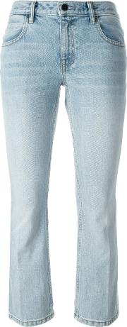 Flared Cropped Jeans