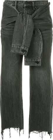 Knot Detail Jeans
