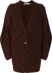 T By Alexander Wang Oversize Cardigan Women Cottonacrylicnylonmerino 2, Red