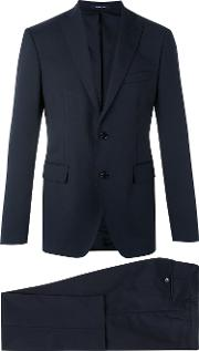 Two Piece Suit Men Cuprovirgin Wool 58, Blue