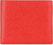 Billfold Wallet Women Leather One Size, Red