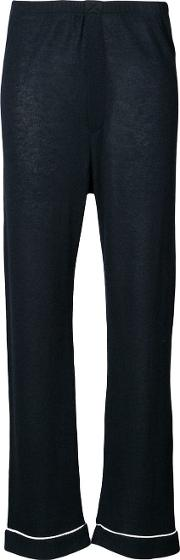 Loose Fit Pyjama Style Trousers