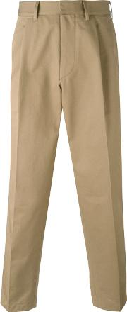 Loose Fit Chino Trousers Men Cotton 50, Nudeneutrals