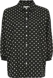 Pillbox Polka Dot Blouse