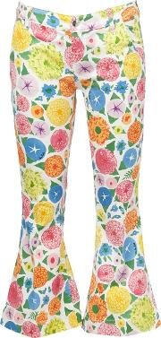 Printed Cropped Jeans Women Cottonspandexelastane 26