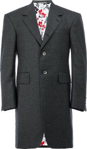Long Blazer Men Cottonwoolshark Skin 2, Grey