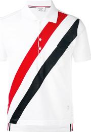 Short Sleeve Pocket Polo With Red,