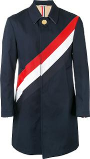 Striped Coat Men Cotton 3, Blue