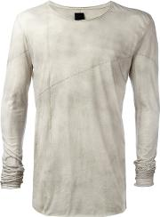 Longsleeved T Shirt Men Cotton L, Nudeneutrals