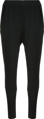 Skinny Fit Tapered Trousers