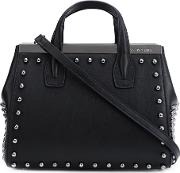 Studded Tote Women Nappa Leather One Size, Black