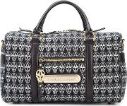 Thomas Wylde Mini Sunset Luggage Bag Women Cotton One Size, Black