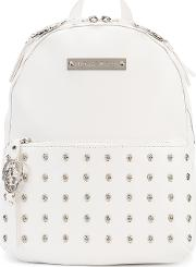 Venice Backpack Women Leather One Size, White